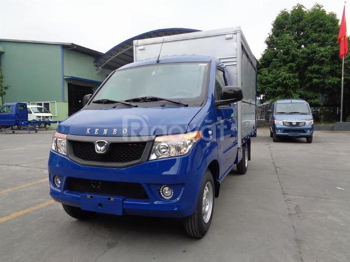 Bán xe tải kenbo thùng kín cánh dơi 900kg đời 2020 giá tốt tháng 8