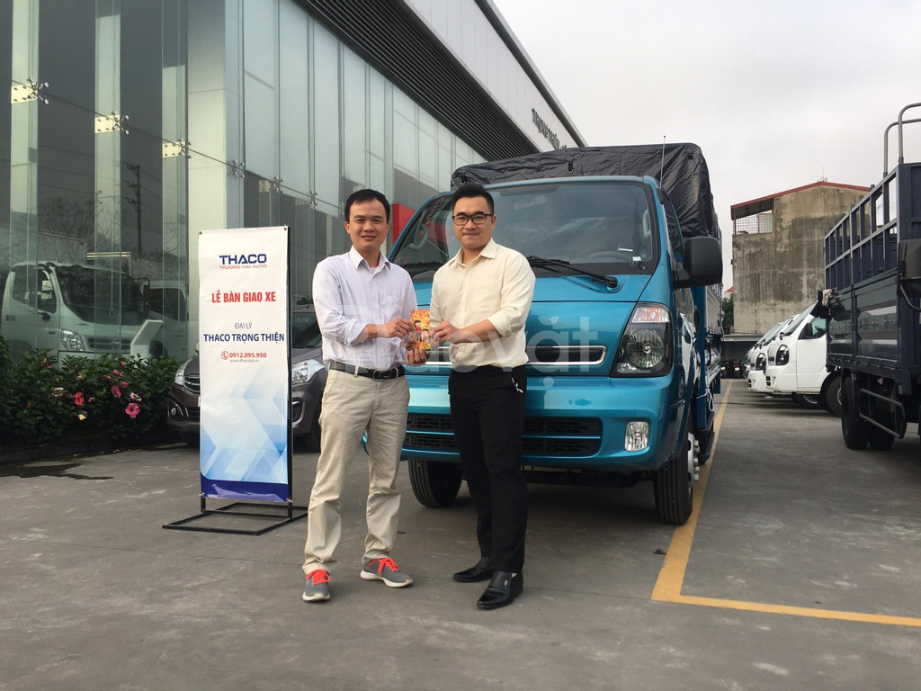 Cần bán xe tải Kia tải 2 tấn 4 Thaco K250 tại Hải Phòng