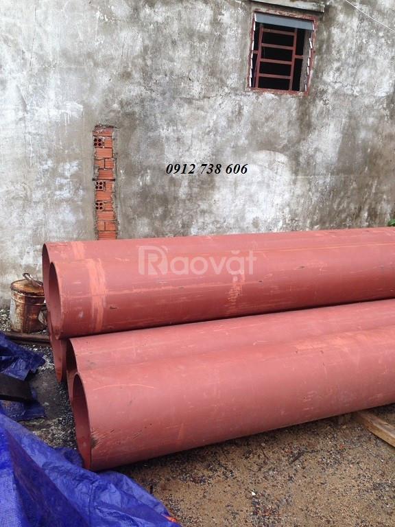 Thép ống đúc phi 400 dày 6 ly đến 12.7 ly dài 6m (6000mm) (ảnh 1)