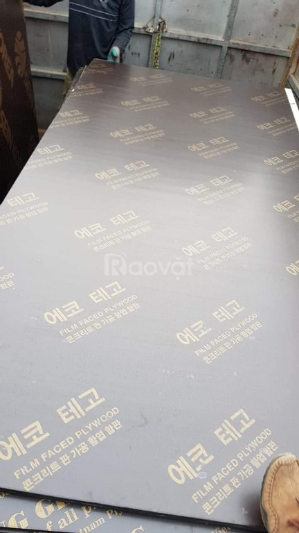 Ván ép phủ phim, cốp pha phủ phim tại An Khánh