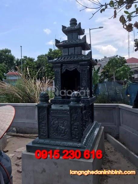 Mẫu mộ đá xanh rêu đẹp (ảnh 1)