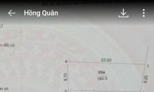 Bán đất Ngọc Tảo, Phúc Thọ, Hà Nội 180m2, ô tô vào, 5,5 triệu/m