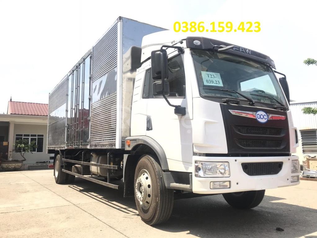 Giá bán xe tải faw 8 tấn thùng dài 8m,vận chuyển hàng hóa palet, nệm.