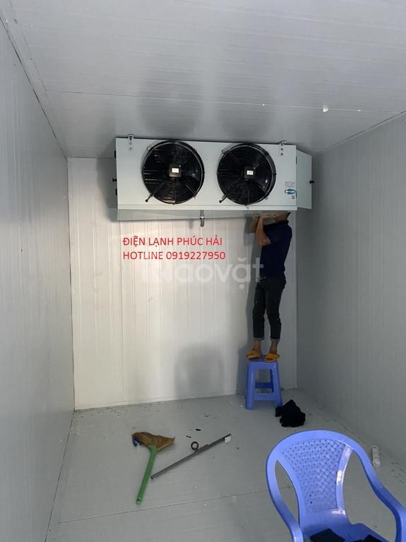 Lắp đặt kho lạnh bảo quản thực phẩm giá tốt