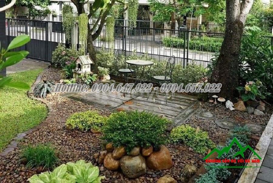 Địa chỉ cung cấp sỏi trang trí sân vườn uy tín