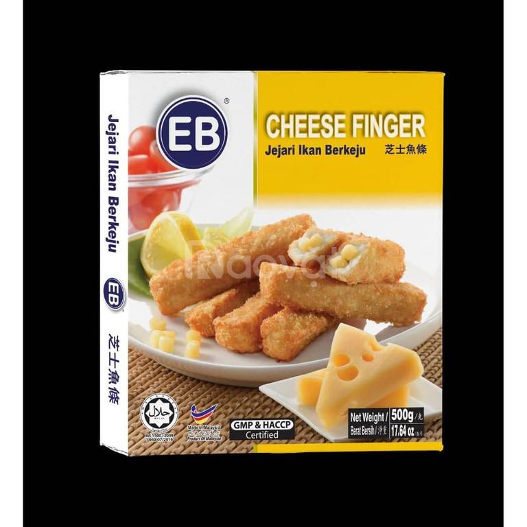 Cá que phô mai nhãn hiệu EB Malaysia