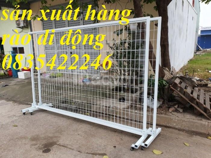 Hàng rào di động, hàng rào lưới thép mạ kẽm, lưới hàng rào