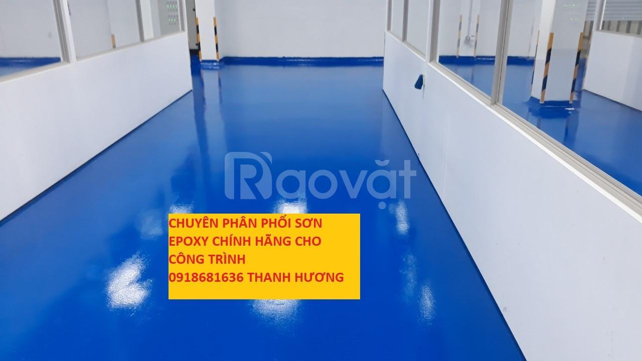 Chuyên bán sơn sàn nhà xưởng, nhà máy chính hãng tại TPHCM