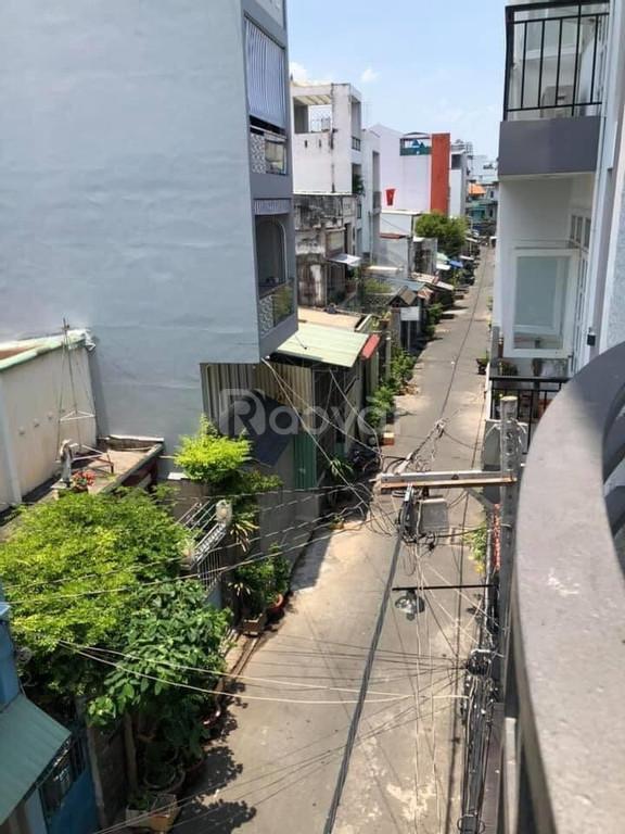 Nhà hẻm xe hơi Phan Văn Trị, Quận Bình Thạnh 68m2, 4 lầu bán 7,7 tỷ  (ảnh 1)