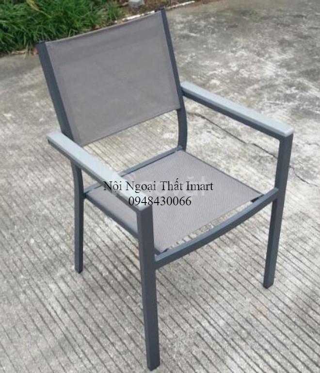 Bộ bàn ghế Textilene sơn tĩnh điện  (ảnh 7)