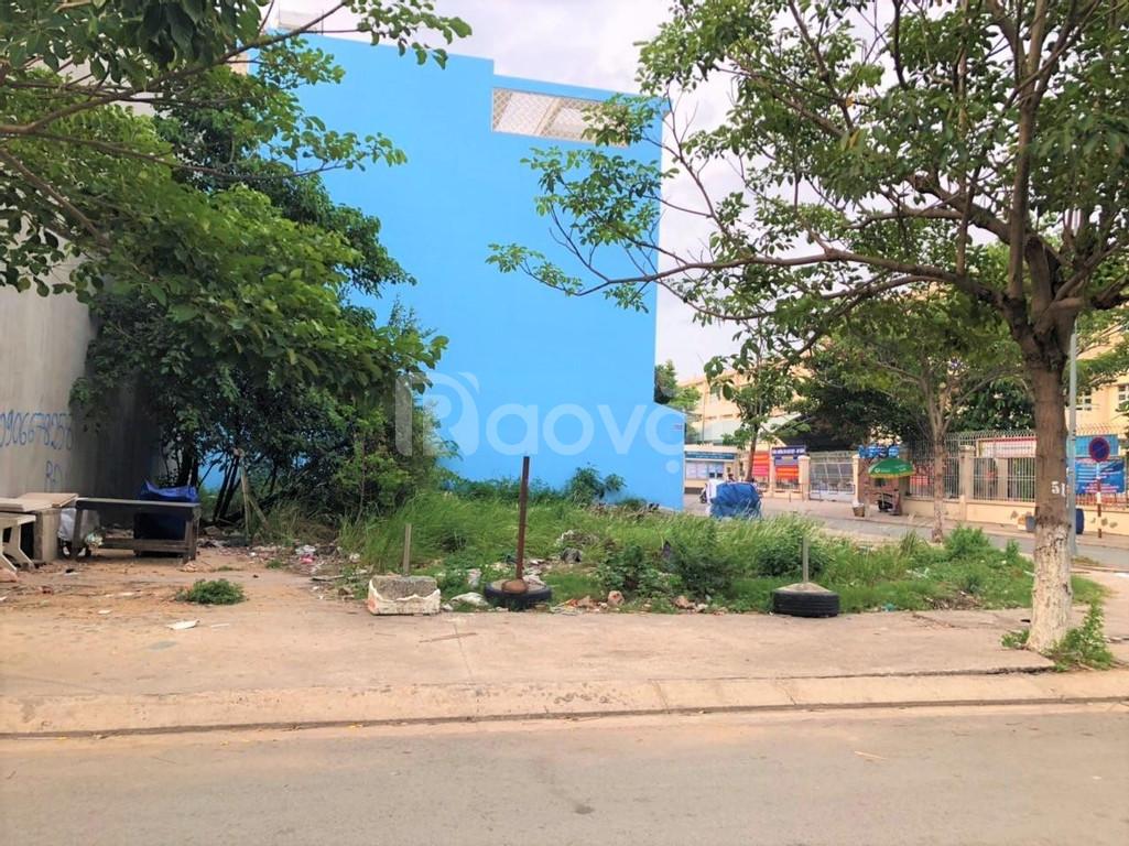 Bán lô góc và lô kế góc đối diện bệnh viện Chợ Rẩy 2, sổ riêng