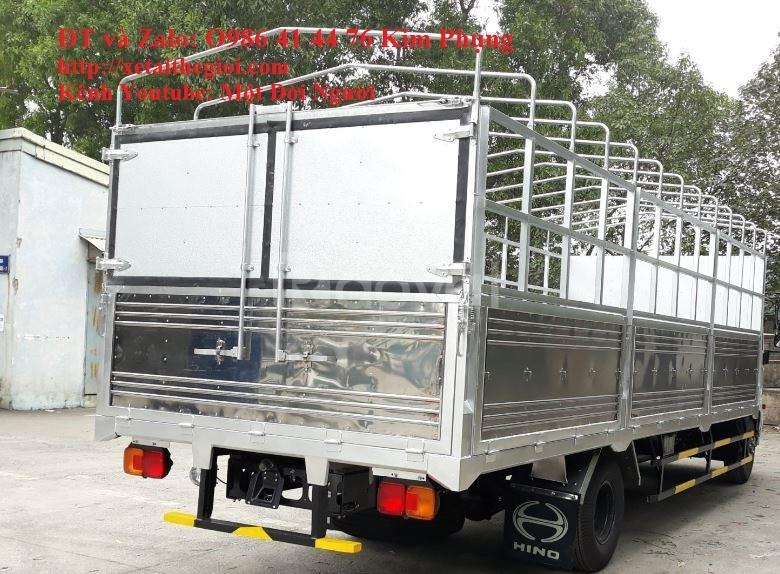 Vốn 160tr chọn mua ngay xe tải hino 6t4 - hino 500 tải 6t4 đời 2020