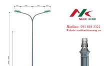 Cột đèn cao áp đế gang DC05b NK 2