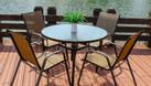 Bộ bàn ghế Textilene sơn tĩnh điện  (ảnh 1)