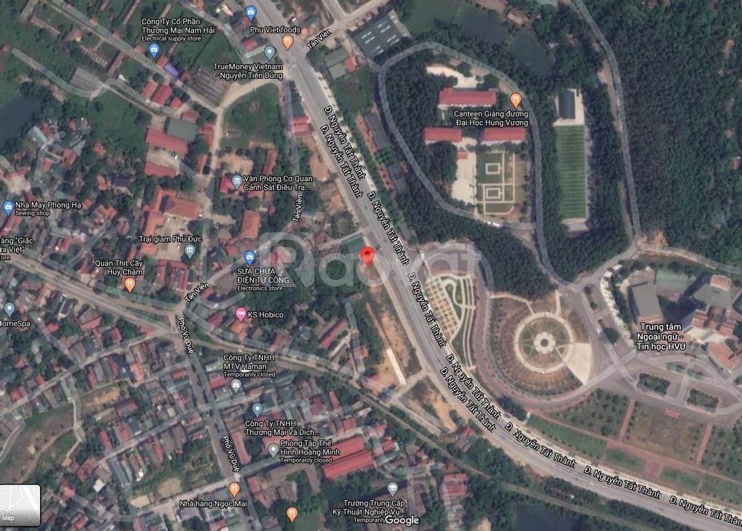 Bán đất đẹp, MT đường lớn, đối diện ĐH Hùng Vương Việt Trì, tiện KD