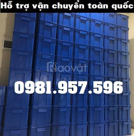 Hộp đựng linh kiện máy móc, thùng nhựa các loại