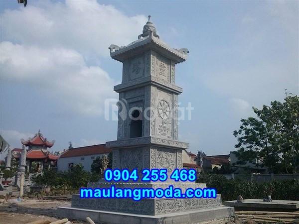 Mẫu bảo tháp sư đẹp để hài cốt bằng đá tại Ninh Bình