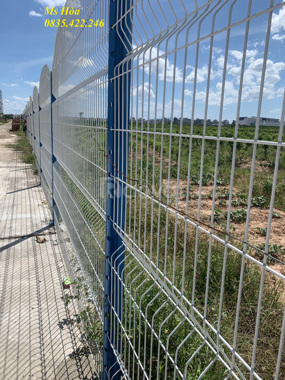 Hàng rào lưới thép hàn, hàng rào mạ kẽm, hàng rào thép