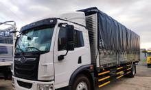 Xe tải vận chuyển hàng hóa palet, nệm - xe tải faw 8 tấn thùng dài 8m.