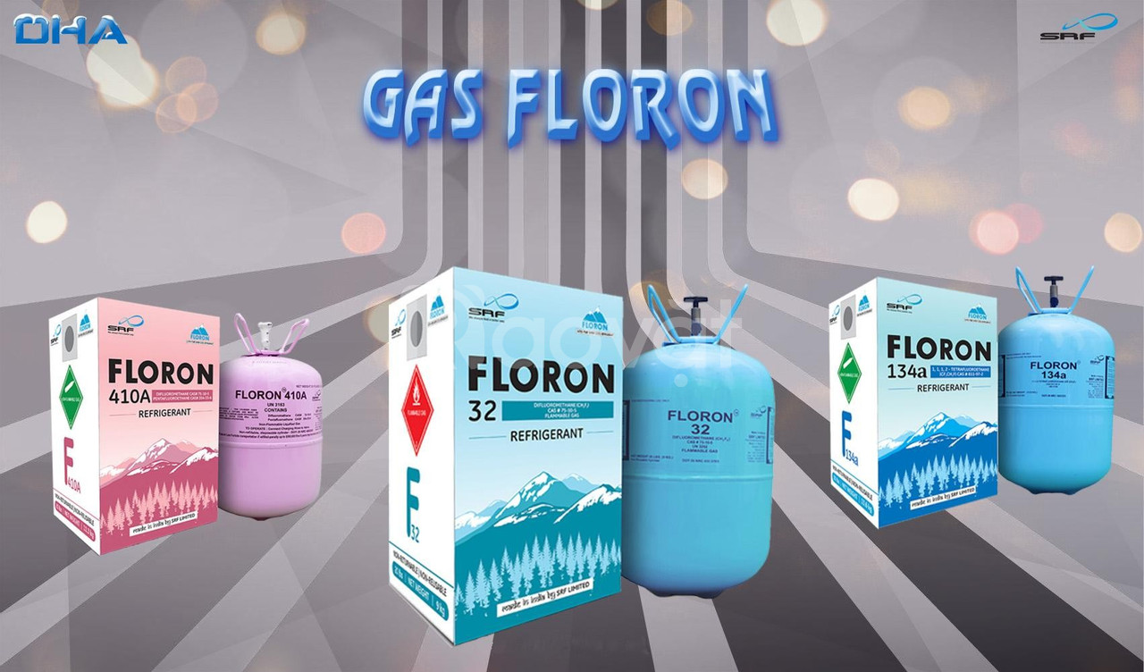 Gas lạnh Floron R32 - Gas lạnh thân thiện môi trường