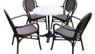 Bộ bàn ghế Textilene sơn tĩnh điện  (ảnh 4)