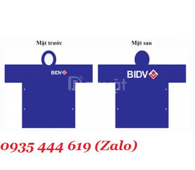 Áo mưa in logo theo yêu cầu giá rẻ tại Quảng Nam