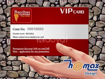 Homax – Nhận in thẻ nhựa giá rẻ cho đối tác làm quảng cáo