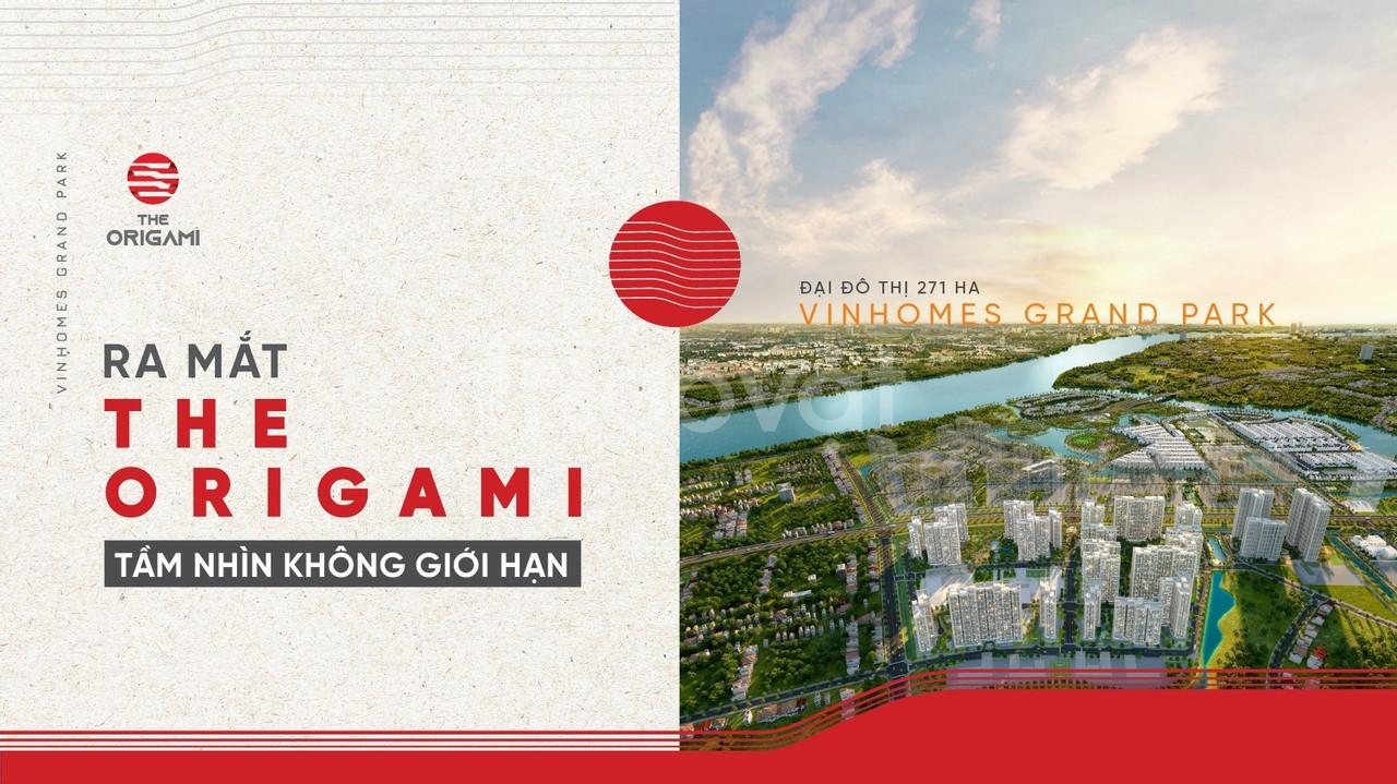 Bán căn hộ The Origami Vinhomes Grand Park Quận 9 TT 25% nhận nhà LS0% (ảnh 4)