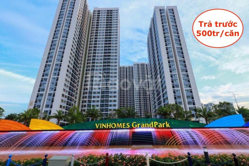 Bán căn hộ The Origami Vinhomes Grand Park Quận 9 TT 25% nhận nhà LS0% (ảnh 1)
