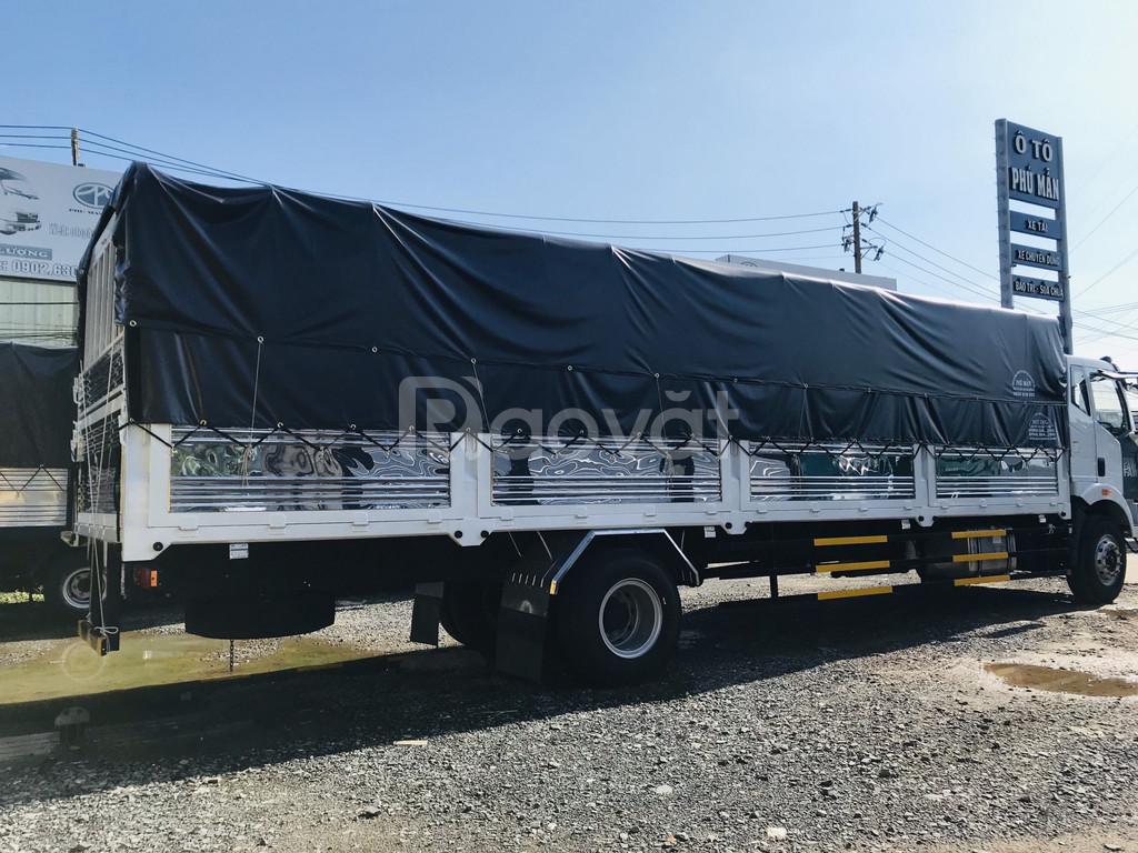 Xe tải faw thùng dài 8 tấn bán tại Bình Dương
