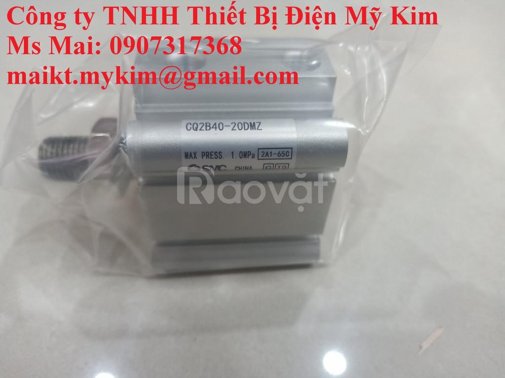 Xy lanh SMC CQ2B40-20DMZ (ảnh 3)