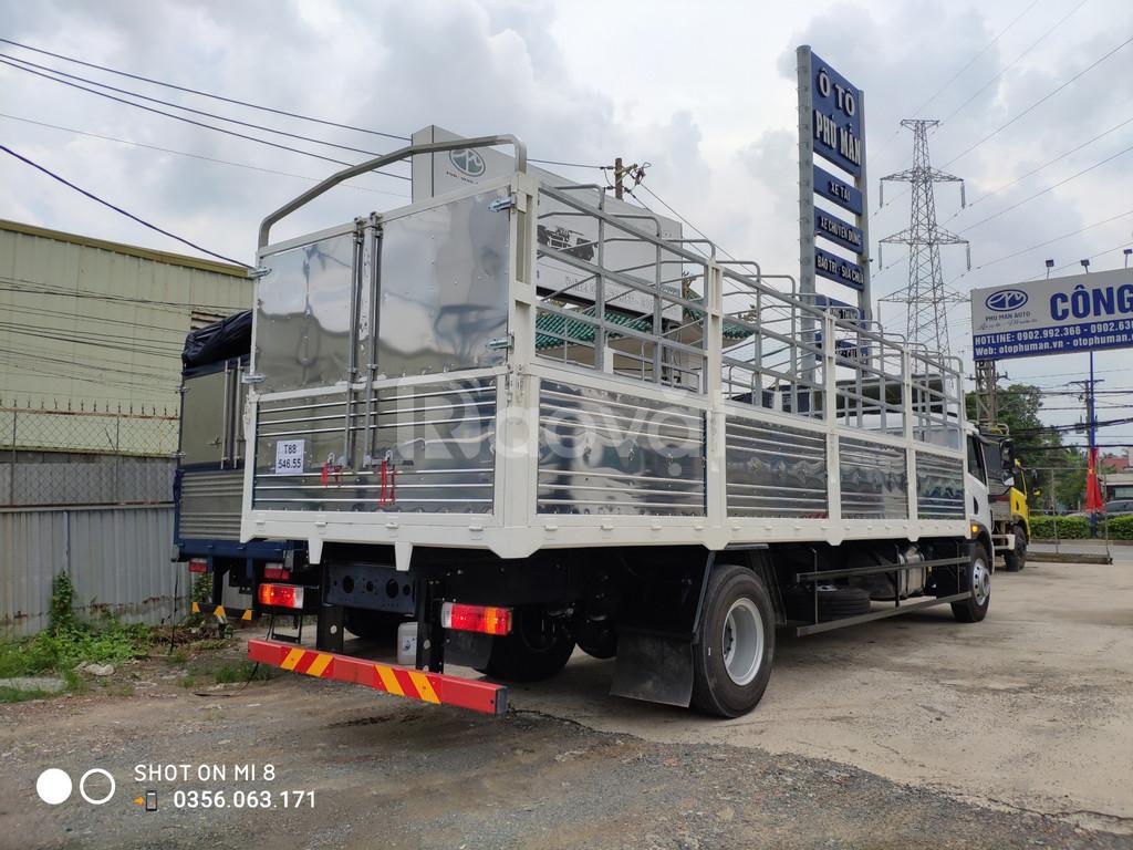 Bán xe tải Faw 8 tấn thùng dài chở hàng cồng kềnh bán trả góp 30% (ảnh 4)