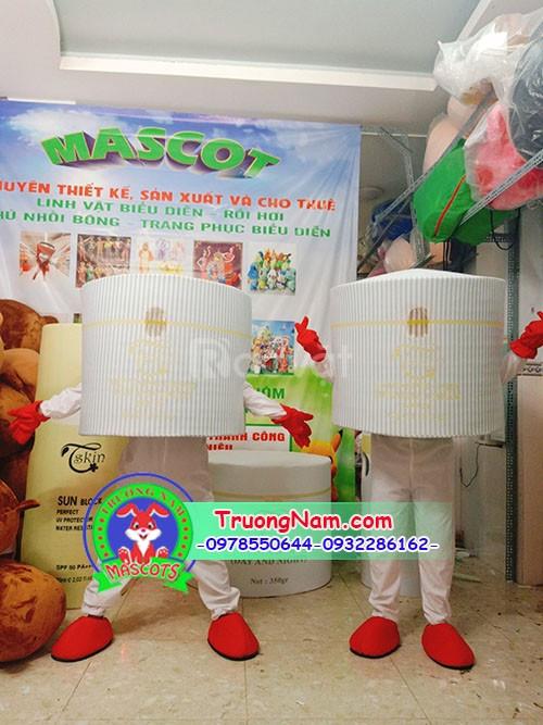 Mascot mô hình hộp mỹ phẩm