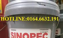 Mỡ chịu nhiệt Sinopec Lithium Grease NLGI2 xô 17Kg