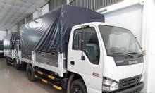 isuzu 2T9 thùng Bạt 4m4, KM máy lạnh, 50% thuế trước bạ...