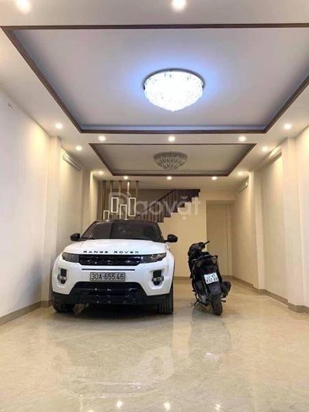 Nhỉnh 6 tỷ gara ôtô, nhà mới, đường ôtô tránh 5 tầng, 55m Thượng Đình  (ảnh 1)