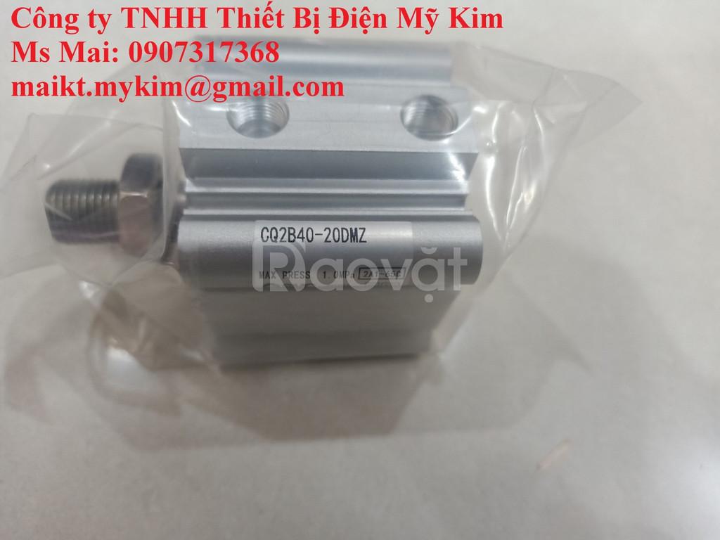 Xy lanh SMC CQ2B40-20DMZ (ảnh 1)