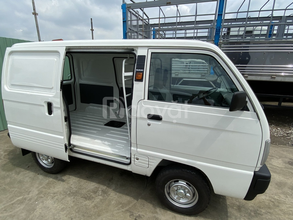Xe tải van suzuki, tải trọng 580kg, hỗ trợ trả góp 70%