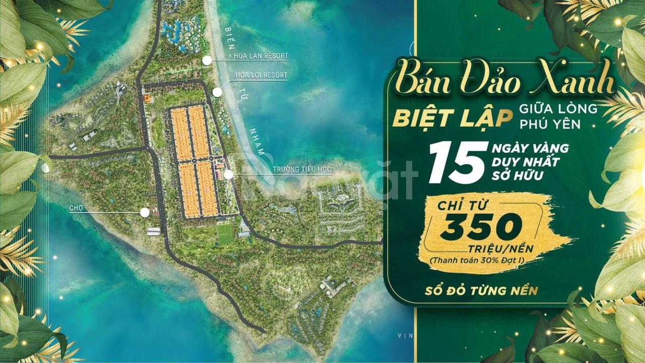 Bán đất biển xây Biệt Thự phía Đông Phú Yên giá chỉ 7,5Tr/m2 LH ngay (ảnh 1)