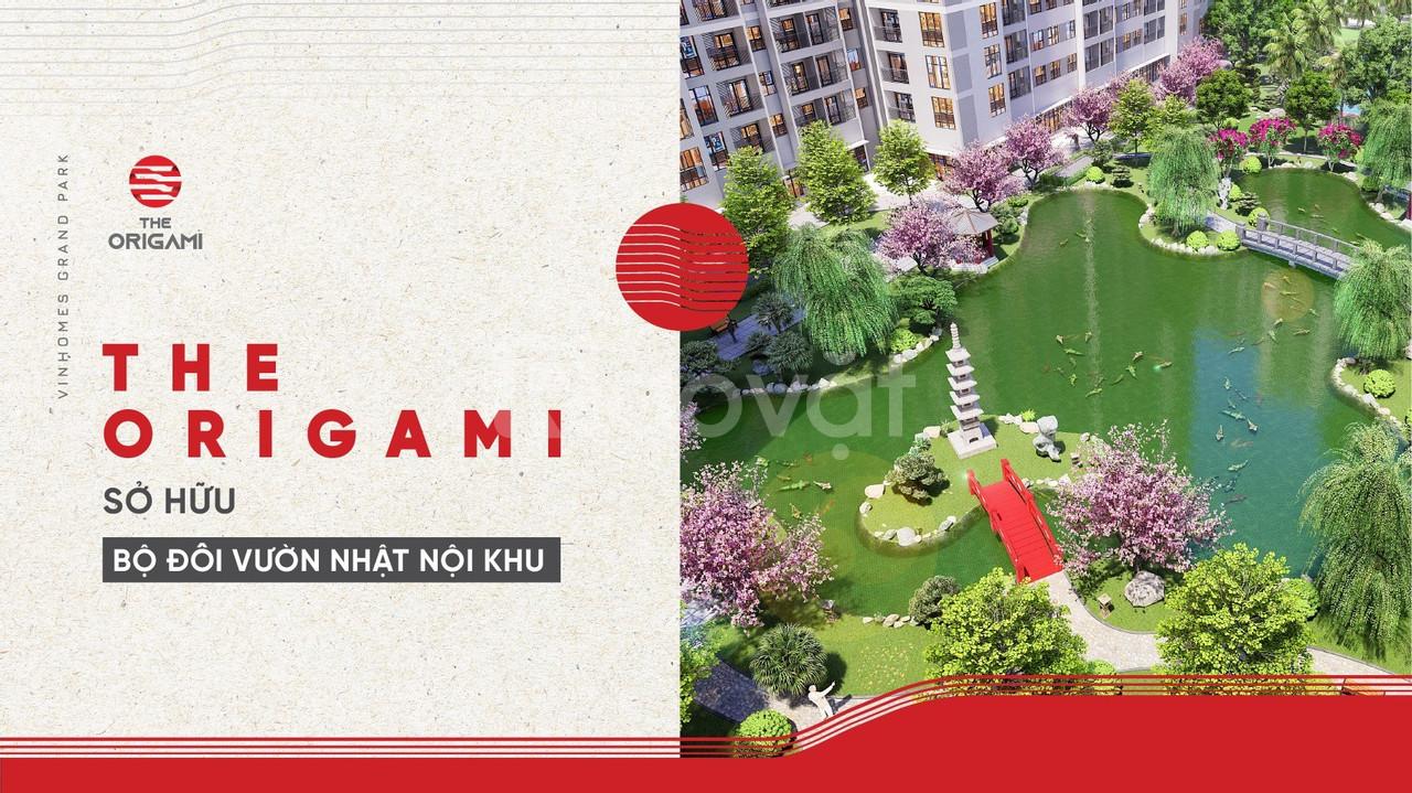 Bán căn hộ The Origami Vinhomes Grand Park Quận 9 TT 25% nhận nhà LS0% (ảnh 5)