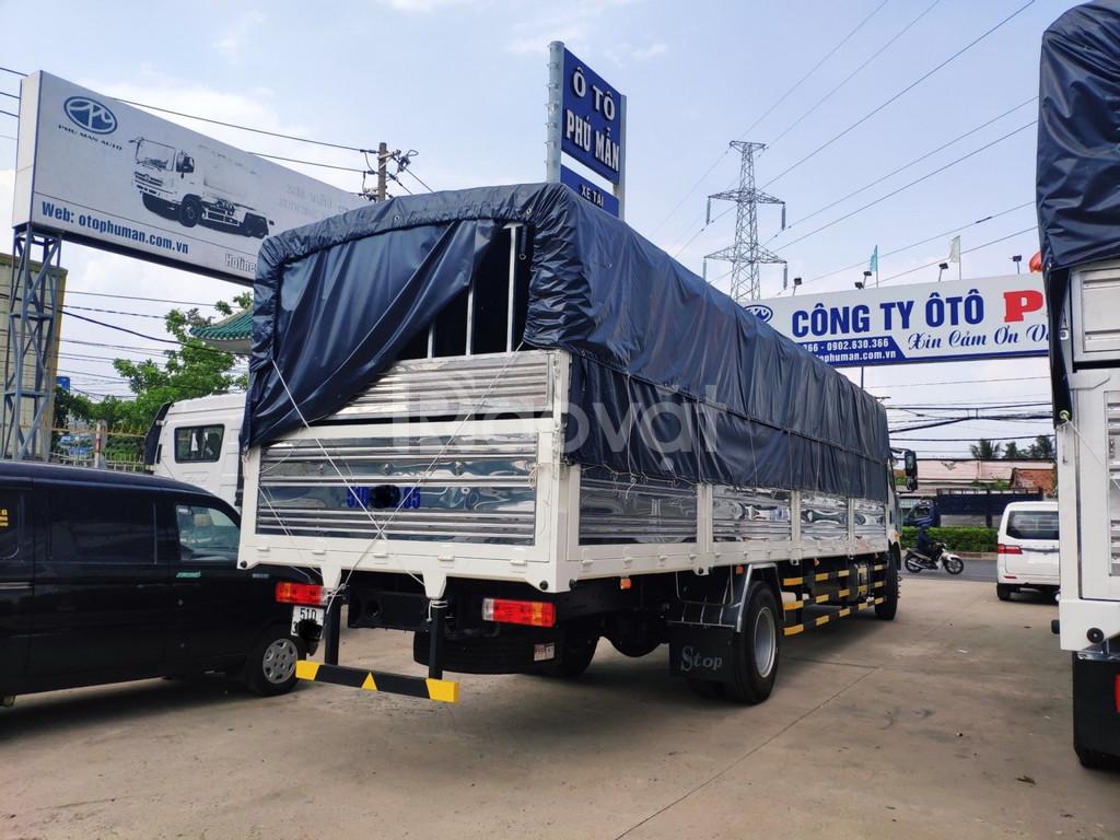 Bán xe tải Faw 8 tấn thùng dài 9m7 chở hàng cồng kềnh bán trả góp