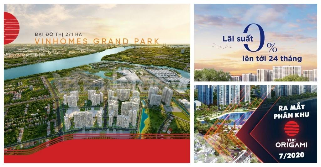 Bán căn hộ The Origami Vinhomes Grand Park Quận 9 TT 25% nhận nhà LS0% (ảnh 7)