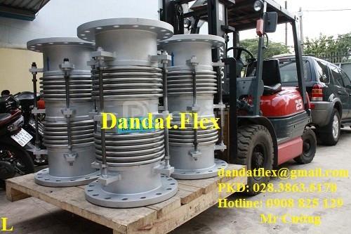 Ống nối mềm chịu nhiệt cao, ống giãn nở nhiệt inox, bù giãn nở nhiệt