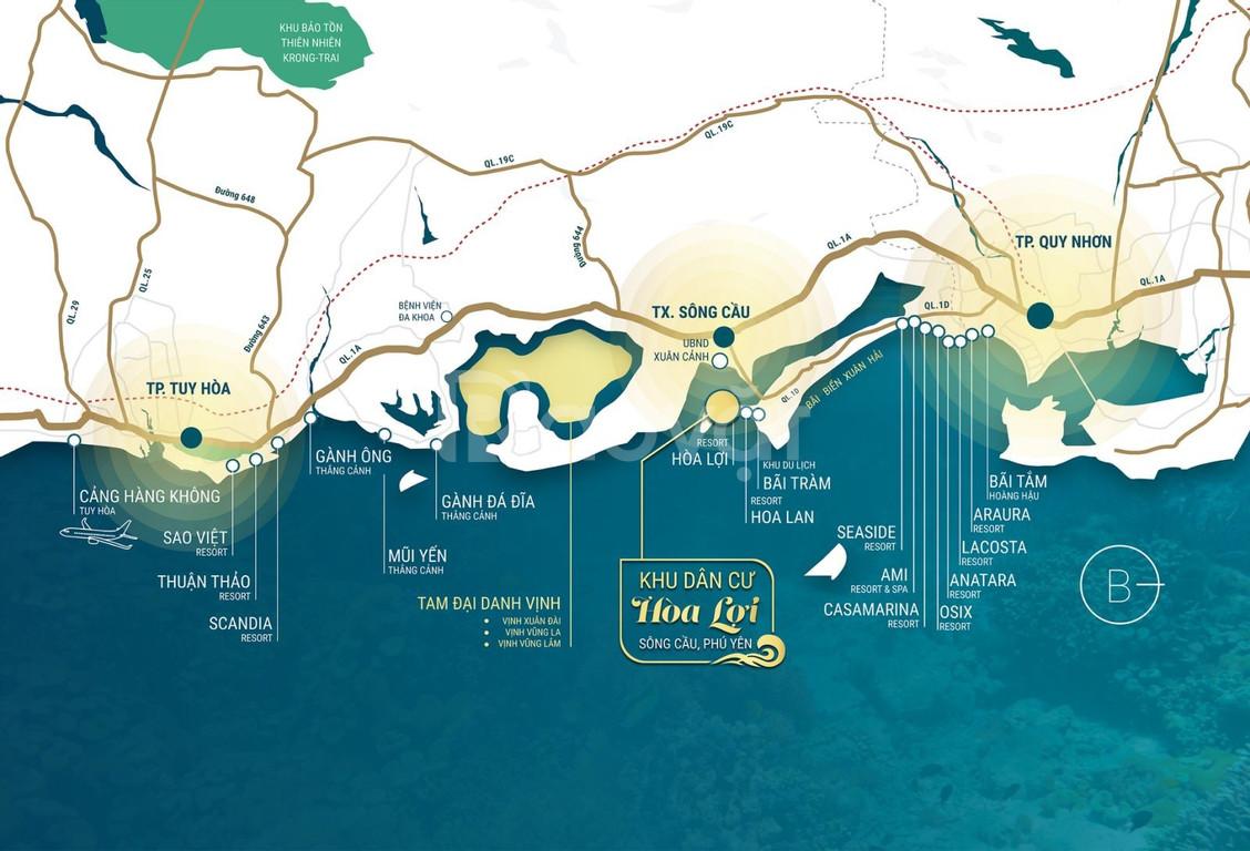 Cơ hội sở hữu ngay đất nền biển chỉ từ 350 triệu