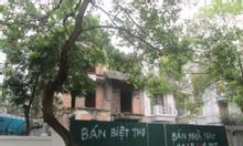 CC bán biệt thự 46 BT4 KĐT Văn Quán 2 mặt đường view công viên 268m2