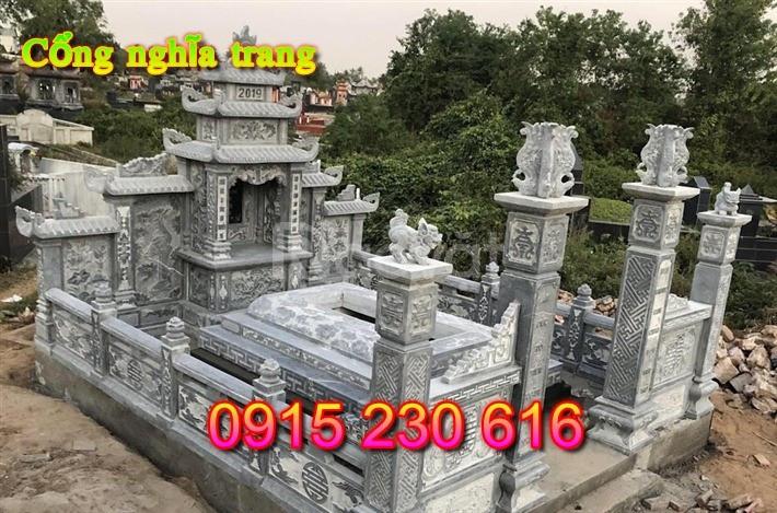Cổng đá khu lăng mộ – Mẫu cổng khu lăng mộ đá đẹp
