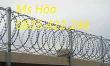 Giá dây thép gai, hàng rào dây thép gai, hàng rào bảo vệ