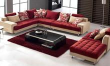 Bọc ghế sofa vải bố Hàn Quốc