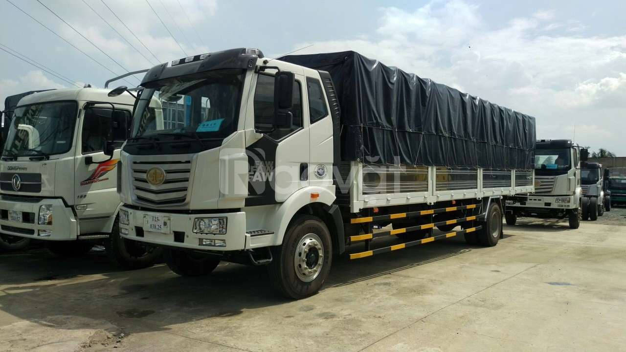 Đại lý bán xe tải thùng dài, xe tải faw 8 tấn thùng dài