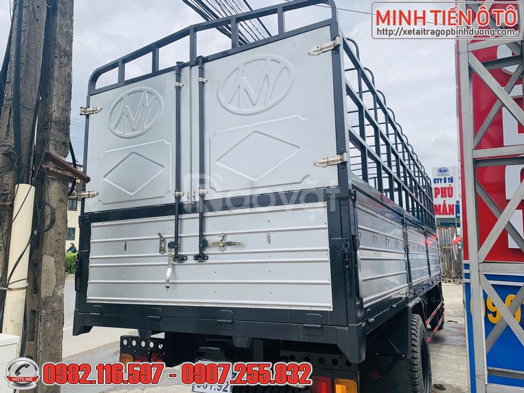 Gía xe tai 8 tấn thùng dài 7 mét ga cơ cầu 10 tấn máy khỏe